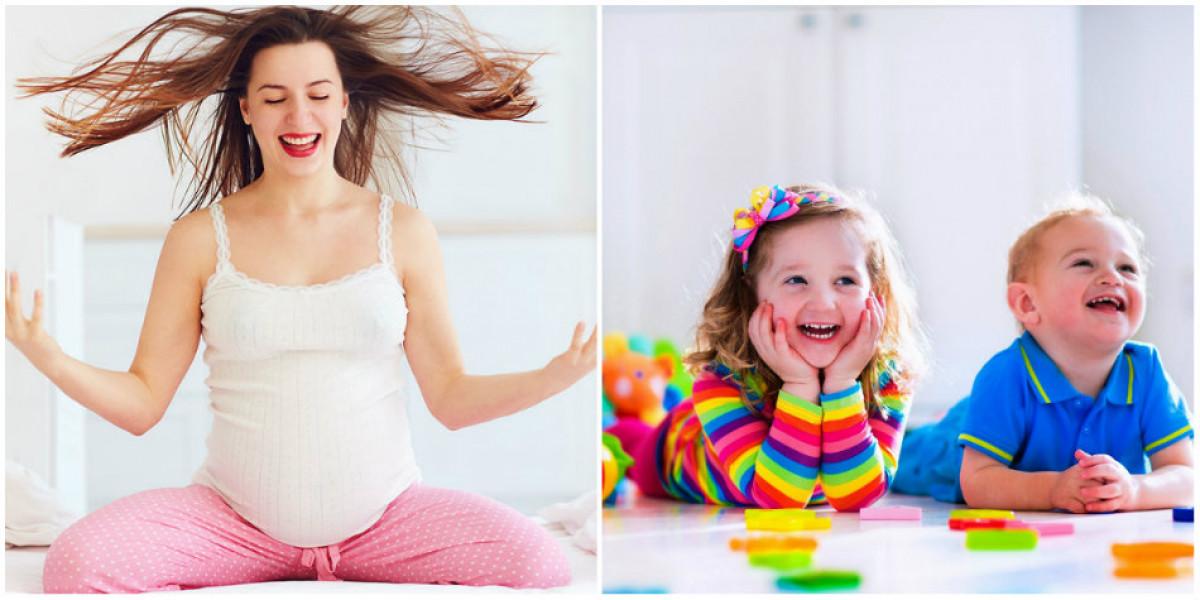 Gravidele care gandesc pozitiv si sunt optimiste vor avea bebelusi speciali! Ce se intampla cu micutii, atunci cand ei se fac mari! VIDEO