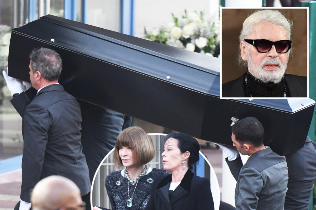 Karl Lagerfeld a fost INCINERAT! E ireal cu ce i-au amestecat cenusa!!! Doamne fereste!