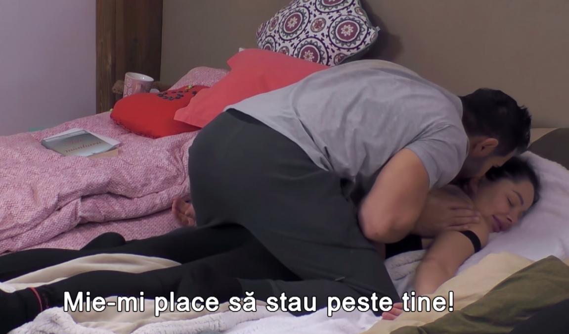 BOMBA! Ce i-a soptit Florin lui Brigitte Sfat dupa ce a pipait-o intim, in somn! Se lasa cu hardcoreala la PRO TV!!!