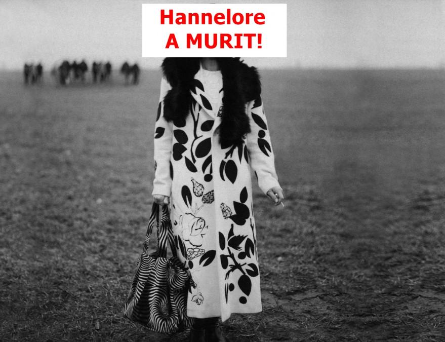 Hannelore a MURIT! S-a imbolnavit subit si a decedat de Pastele catolic. Avocatul ei a facut anuntul AZI! Ce se va intampla