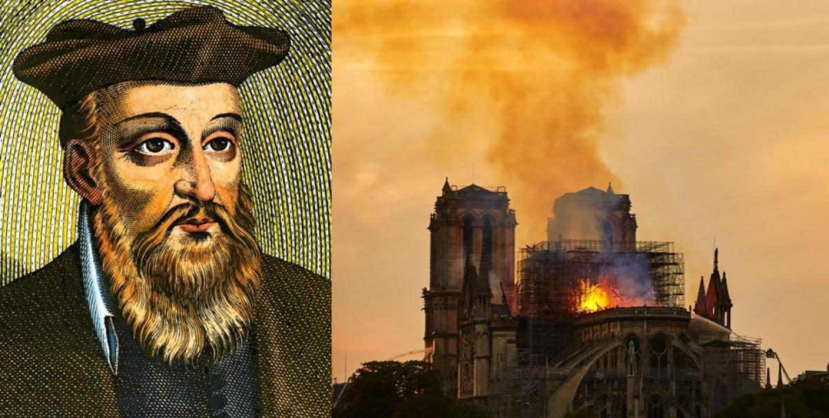 Vine SFARSITUL lumii! Incendiul de la Notre Dame este primul semn. Te vei cutremura, Nostradamus a prezis ca...