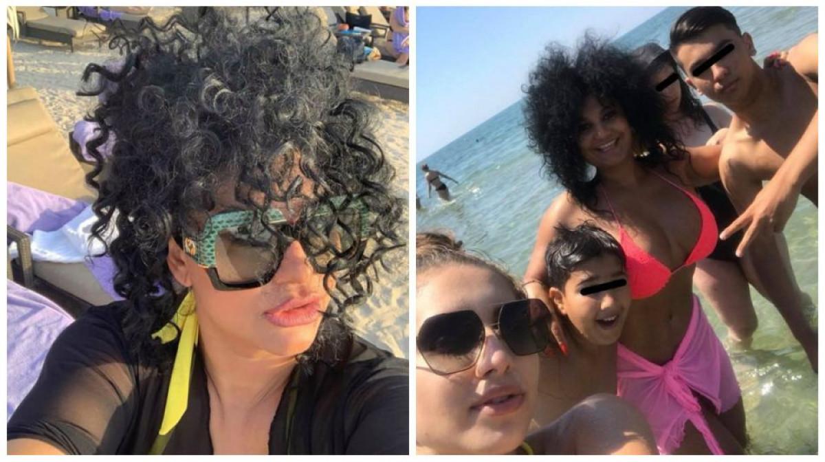 Cea mai CELEBRA vaduva din Romania e SEXY rau! Ioana a uitat de moartea sotului si si-a etalat trupul, la plaja, in vacanta!