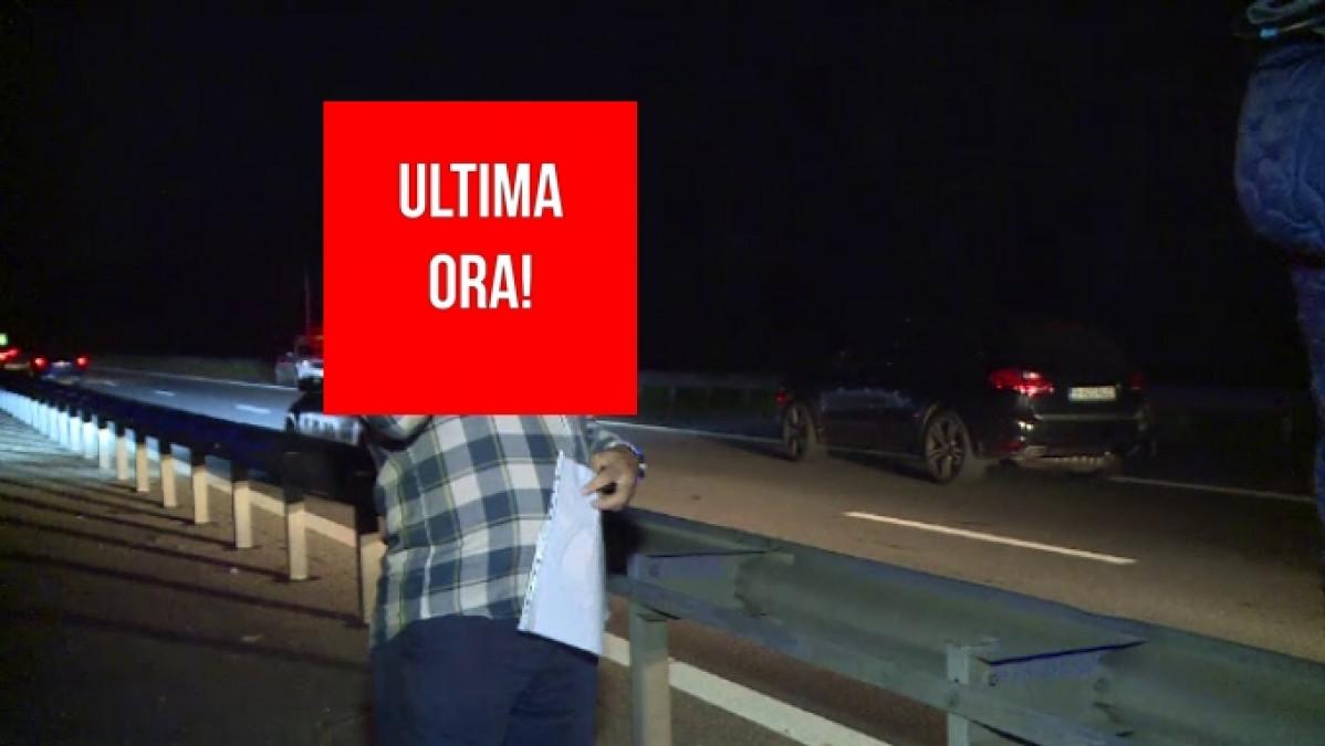 ULTIMA ORA: A MURIT! Accident infiorator pe A3, unde a fost implicat si Rau Obreja. E ireal cum s-a produs carambolul