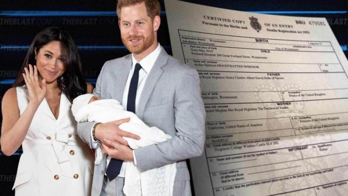 BOMBA! Ce 'ocupatie' are Meghan Markle! Ducesa a trecut 'meseria' ei pe certificatul de nastere al fiului sau