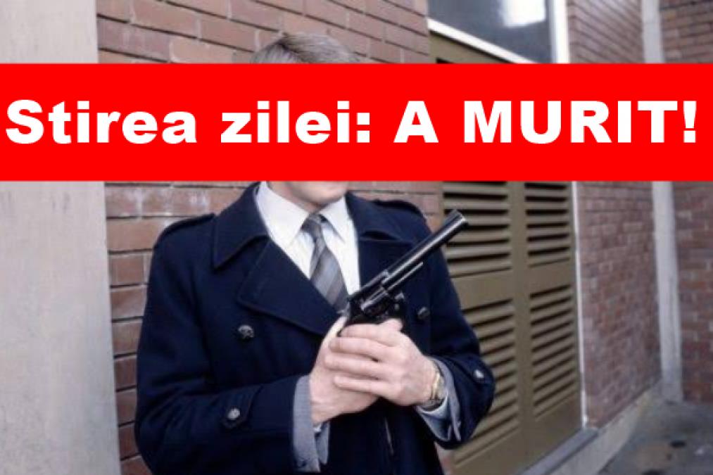 Veste trista in Romania! Din nefericire, a MURIT in aceasta dimineata. Corpul i-a cedat brusc. Dumnezeu sa-l odihneasca!