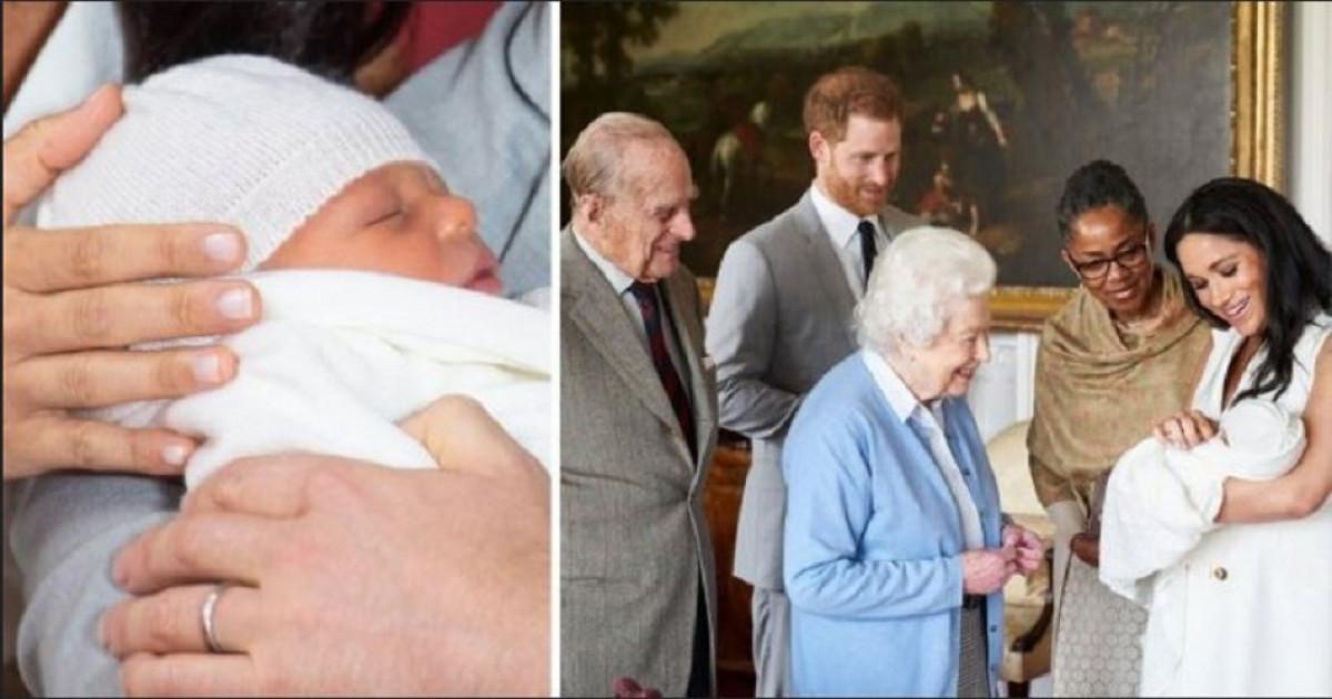 BOMBA! Cu cine seamana bebe Archie! Meghan Markle a publicat cea mai recenta poza cu fiul ei. Imaginea te va topi cu dragalasenia ei!