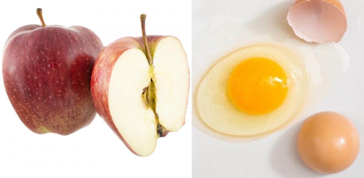 Dieta cu mere si oua, ideala pentru a slabi rapid. Iata ce pasi trebuie sa urmezi