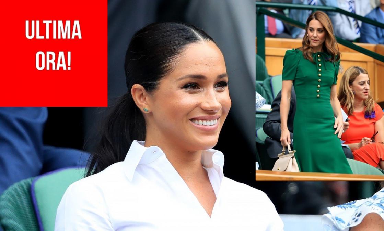 BOMBA! Cum au fost surprinse Meghan si Kate la meciul Simonei cu Serena? Fanii NU s-au asteptat la asta