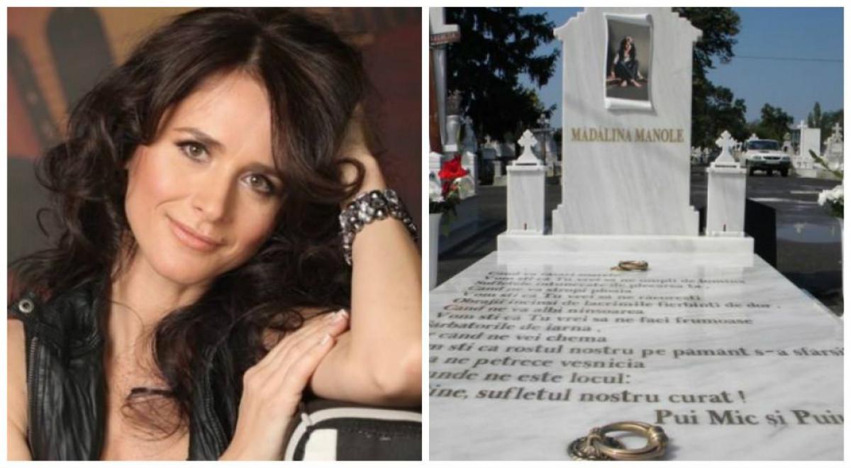 Aparitie SOCANTA la mormantul Madalinei Manole! Tatal artistei a avut parte de o SPERIETURA!