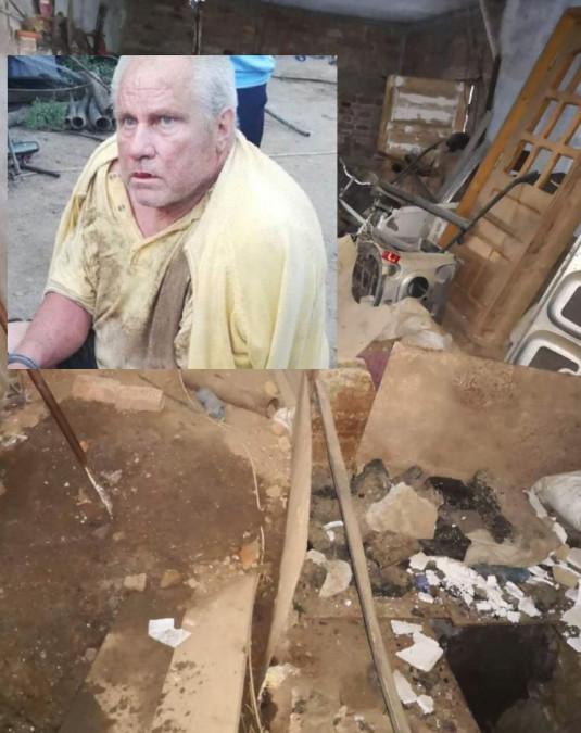 O noua descoperire socanta in curtea lui Gheorghe Dinca. Ce a betonat monstrul!