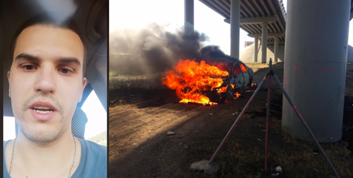 Mesajele SOCANTE ale parintilor tanarului care si-a dat foc in masina, in Medgidia: 'Am crescut un sarpe, nu un copil!'